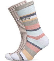 levis regular cut stripe story 2p underwear socks regular socks rosa levi´s