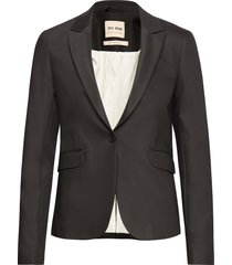 blake night blazer sustainable blazers casual blazers svart mos mosh