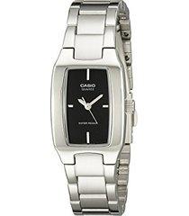 reloj kcasltp 1165a 1c casio-plateado
