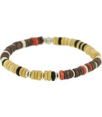 men's sabbia beaded bracelet