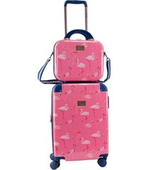"chariot 2-pc. 20"" carry-on and beauty case set"