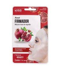 máscara facial de algodão romã kiss ny | kiss | 20ml