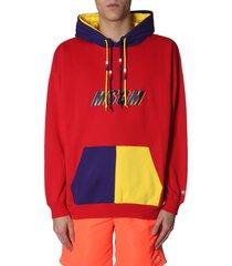 msgm colour block sweater