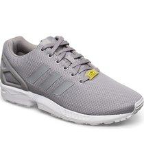 zx flux låga sneakers grå adidas originals