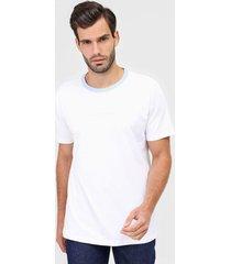 camiseta yachtsman lettering branca