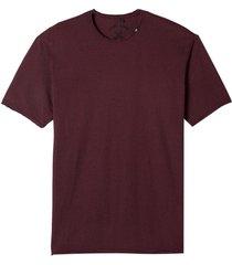 camiseta john john lines pocket red masculina (cordovan, gg)