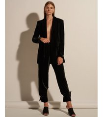 spodnie aksamitne classic