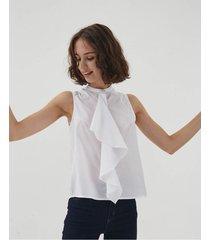 blusa blanca desiderata royale