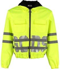 gcds techno fabric jacket