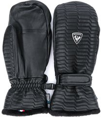 rossignol select impr textured mittens - black