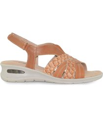 sandalia de cuero suela vemmas sion