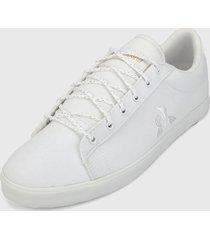 tenis lifestyle blanco le coq sportif agate