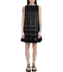 alaia black dress