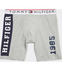 tommy hilfiger men's modern essentials boxer brief gray heather - s