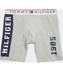 tommy hilfiger men's modern essentials boxer brief gray heather - s