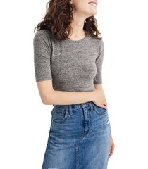 women's madewell crewneck short sleeve bodysuit