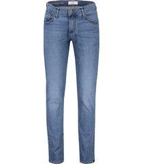 brax jeans chuck modern fit blauw 5-pocket