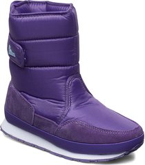 rd classic snowjogger solid shoes boots ankle boots ankle boot - flat lila rubber duck