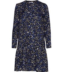 mila short dress korte jurk blauw storm & marie