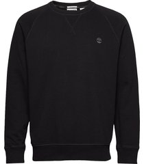 e-r basic regular crew sweat-shirt tröja svart timberland