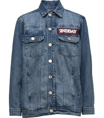 2nd festival jeansjack denimjack blauw 2ndday