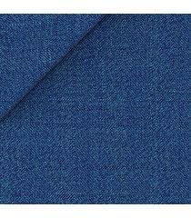 giacca da uomo su misura, vitale barberis canonico, blu 120's melange, quattro stagioni | lanieri