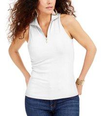 thalia sodi zip-front halter top, created for macys