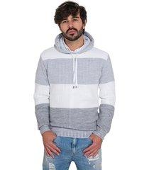 blusa tricot malharia nevaska chicago branca - kanui