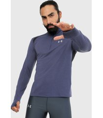 buzo azul under armour 2.0 half zip
