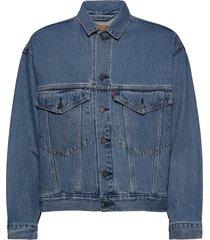stay loose trucker hang loose jeansjack denimjack blauw levi´s men