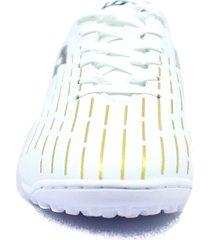 zapatillas para futbol torretin lotto dybala tf h3a - blanco
