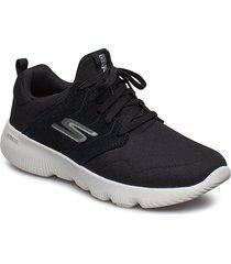 womens go run focus shoes sport shoes running shoes svart skechers