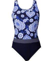 costume intero modellante (blu) - bpc bonprix collection