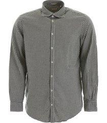 massimo alba check shirt