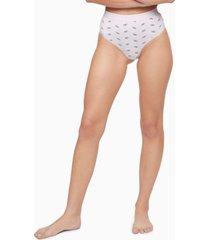 calvin klein women's ck one high-waist thong underwear