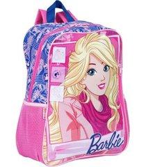 mochila grande barbie 18m infantil sestini