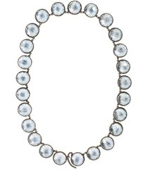 olivia button riviere quartz necklace