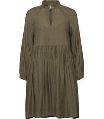 florenza dress jurk knielengte groen second female