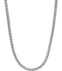 'classic chain' mini silver necklace