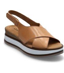 ankle-stap sandal shoes summer shoes flat sandals beige gabor