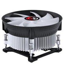 cooler para processador intel pcyes nótus i300 led vermelho