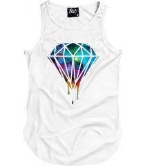 regatas skull clothing diamante galax branco - branco - masculino - algodã£o - dafiti