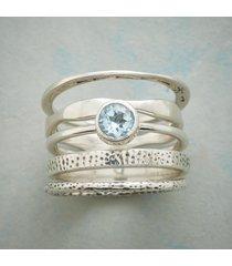 topaz quintet rings