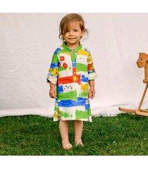 lniana sukienka dziecięca verano