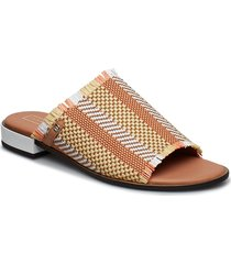 tammi 5c shoes summer shoes flat sandals brun tommy hilfiger