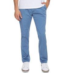 pantalon azul claro 15-2876 preppy chino 98% algodón 2% elastano bota 18