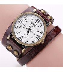 orologio da polso in cuoio