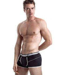 pump! free-fit boxer - black multi-color
