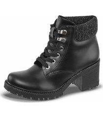 botines pamera negro para mujer croydon