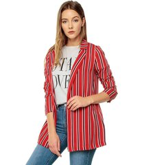 blazer rojo/azul/blanco active
